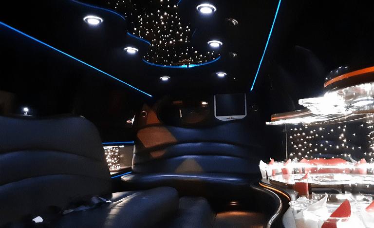Lincoln Town Car Limousine Interior