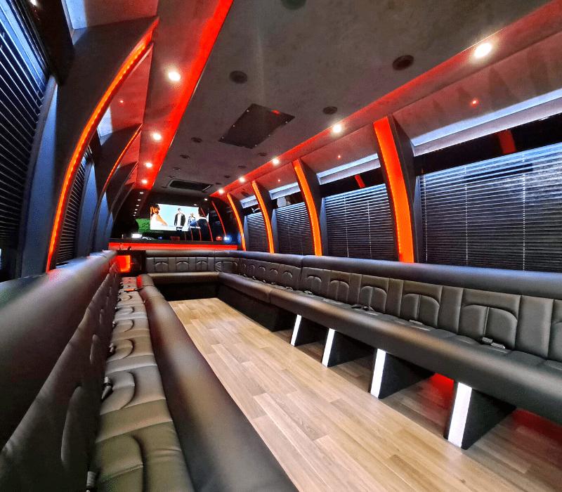 26 Passenger Party Bus Rental